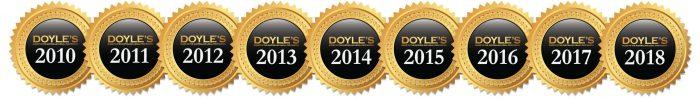 Doyles - Raising the Bar for nine consecutive years.