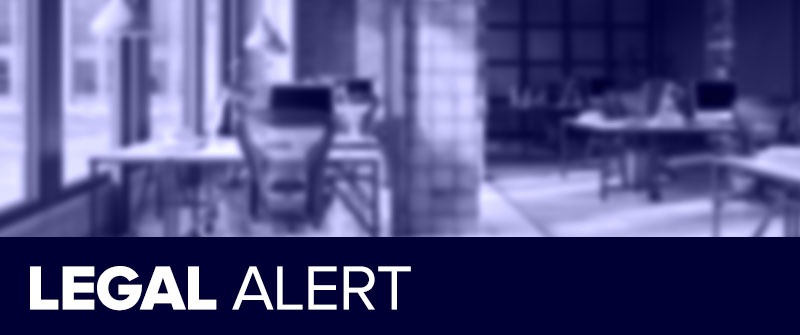 LEGAL ALERT: Reminder: review or develop sexual harassment policies